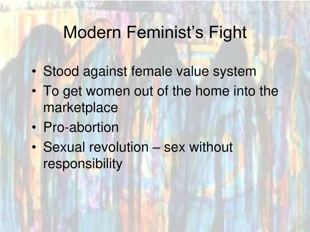 Modern Feminist's Fight