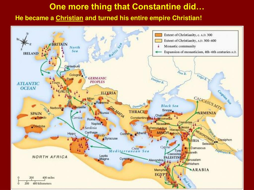 One more thing that Constantine did…