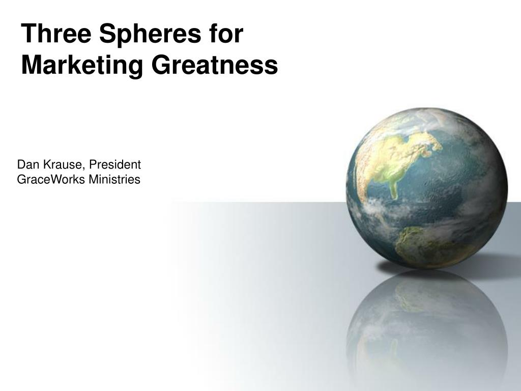 three spheres for marketing greatness l.