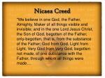 nicaea creed