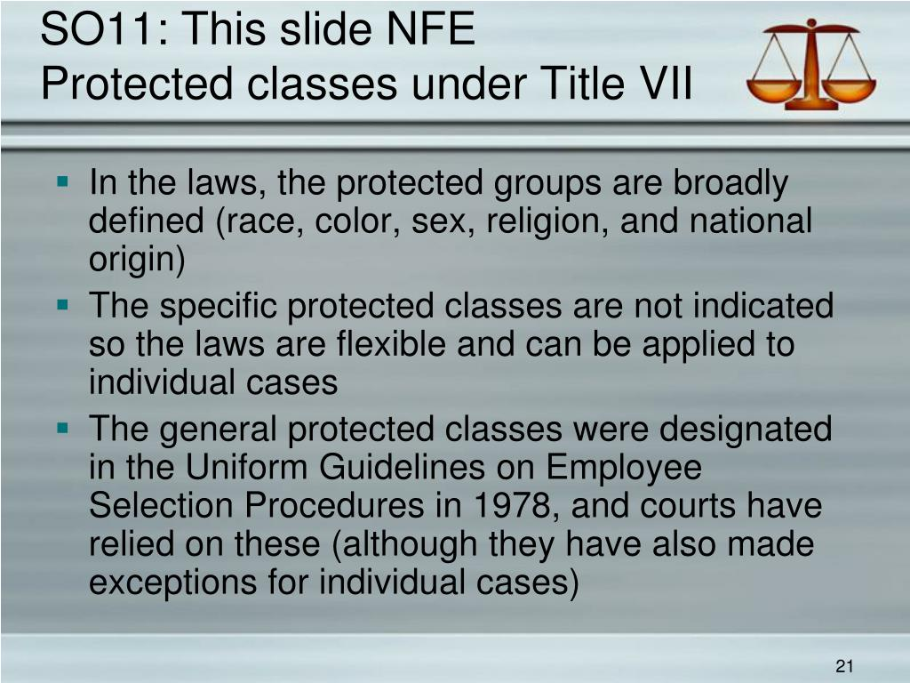 SO11: This slide NFE