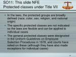 so11 this slide nfe protected classes under title vii