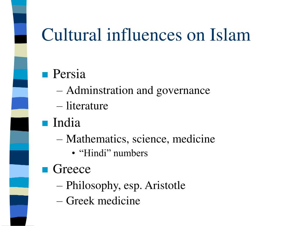 Cultural influences on Islam