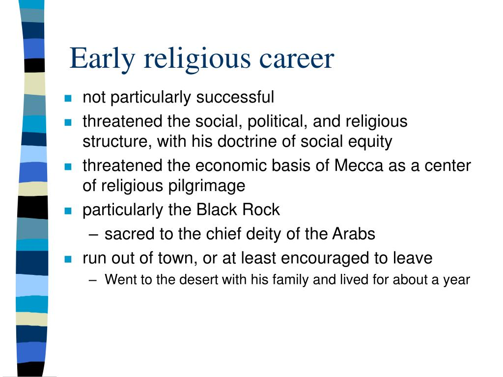 Early religious career