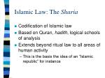 islamic law the sharia