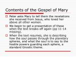contents of the gospel of mary39