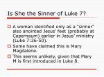 is she the sinner of luke 7