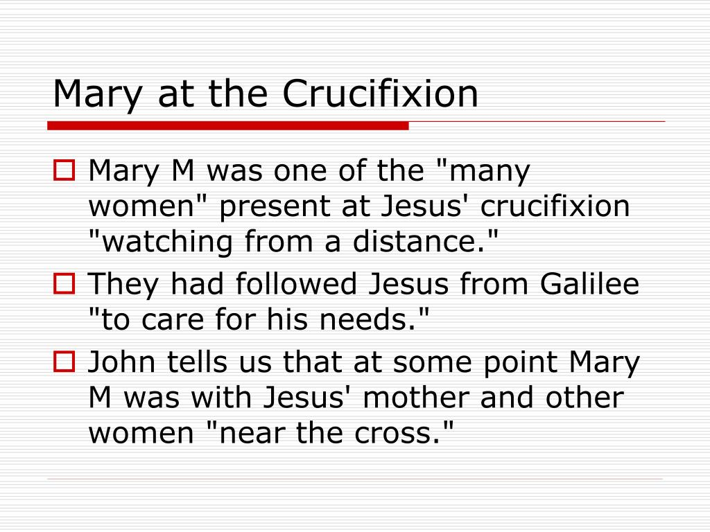 Mary at the Crucifixion