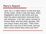 mary s report16