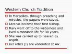 western church tradition29
