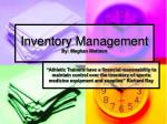 inventory management by meghan mattson