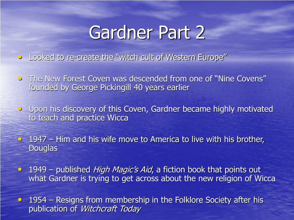 Gardner Part 2