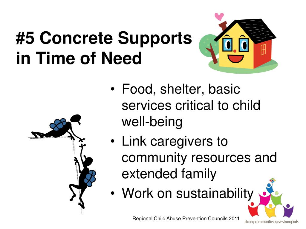 #5 Concrete Supports in Time of Need