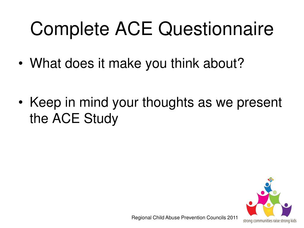 Complete ACE Questionnaire