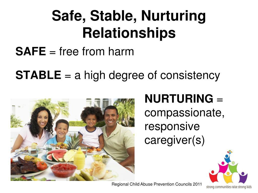 Safe, Stable, Nurturing Relationships