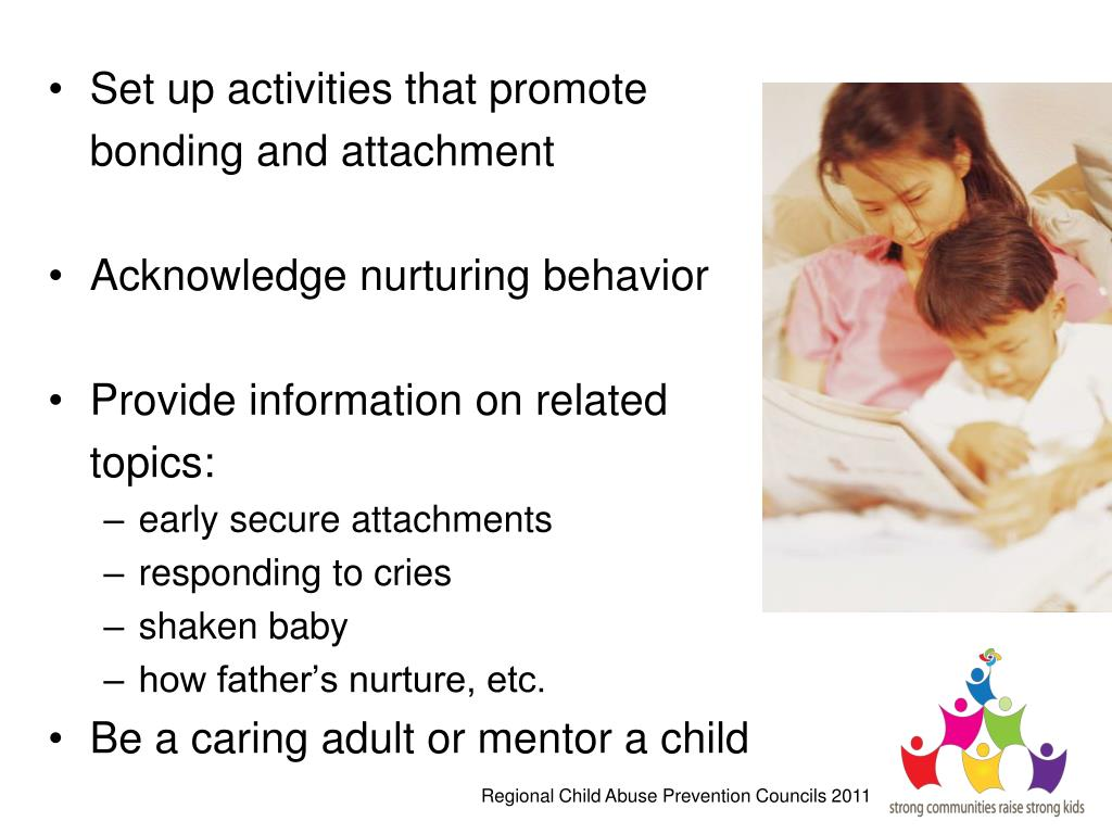 Set up activities that promote