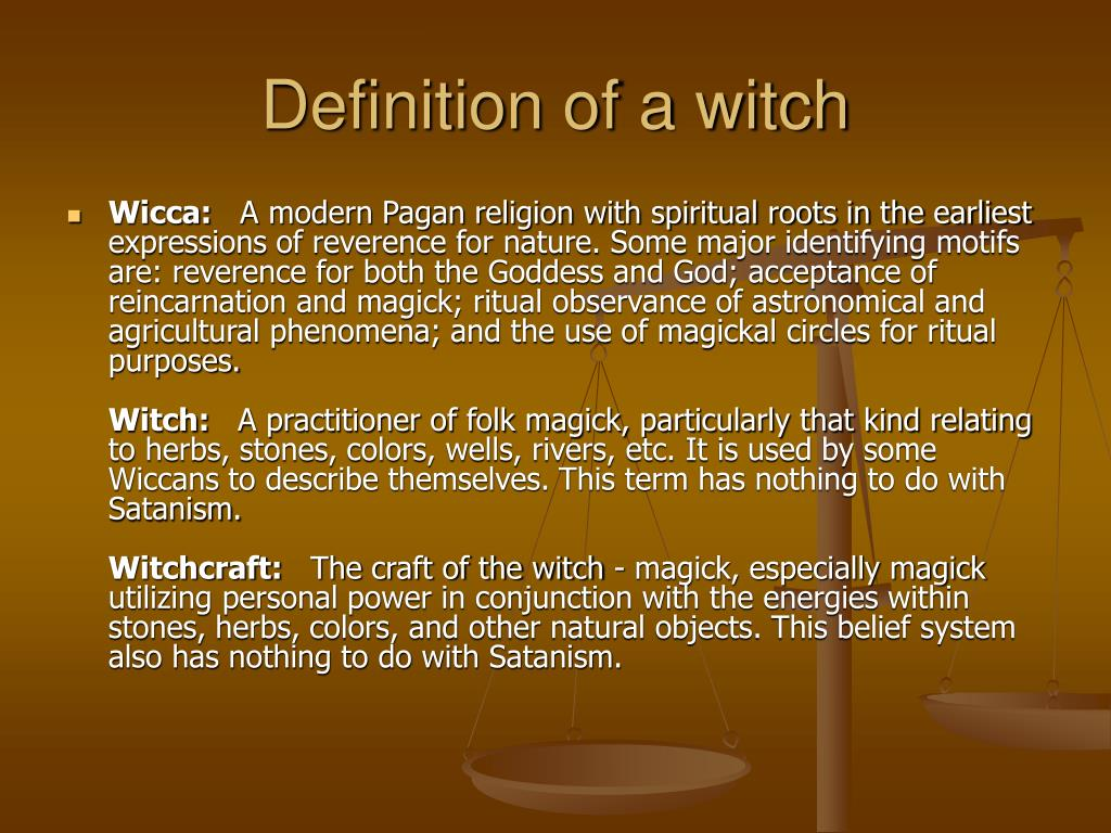 PPT - Witchcraft Exposed PowerPoint Presentation - ID:76444