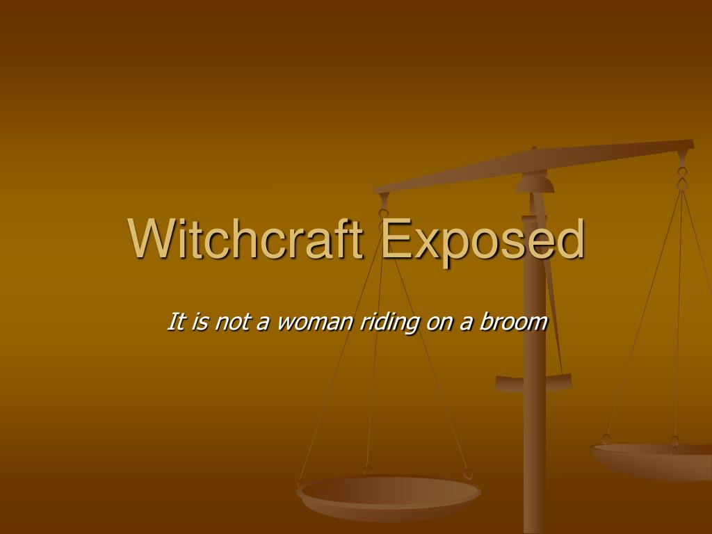 witchcraft exposed l.