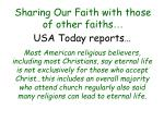 sharing our faith with those of other faiths45