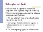 philosophy and truth