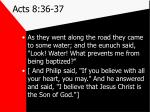 acts 8 36 37