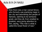 acts 8 9 24 nasu