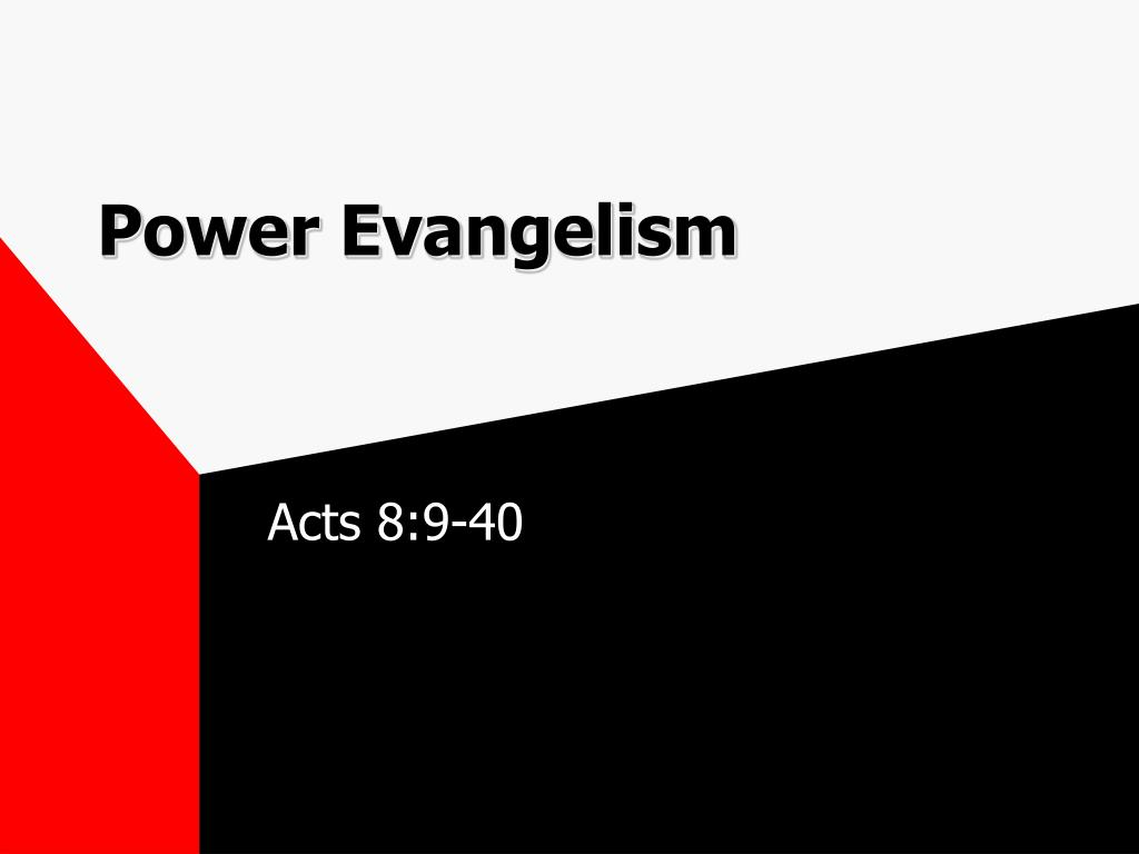 power evangelism l.