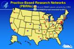 practice based research networks pbrns