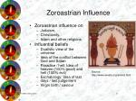zoroastrian influence