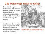the witchcraft trials in salem32