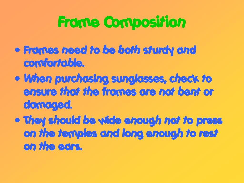 Frame Composition
