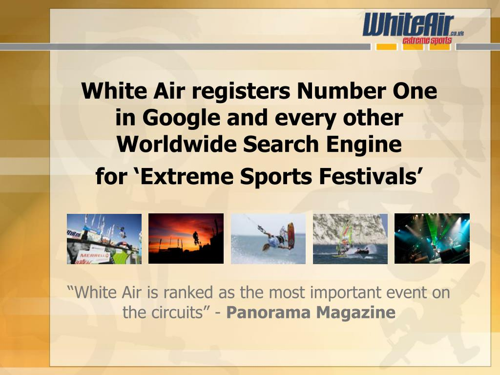White Air registers Number One
