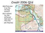 credit 2006 q1d