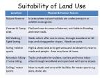 suitability of land use6