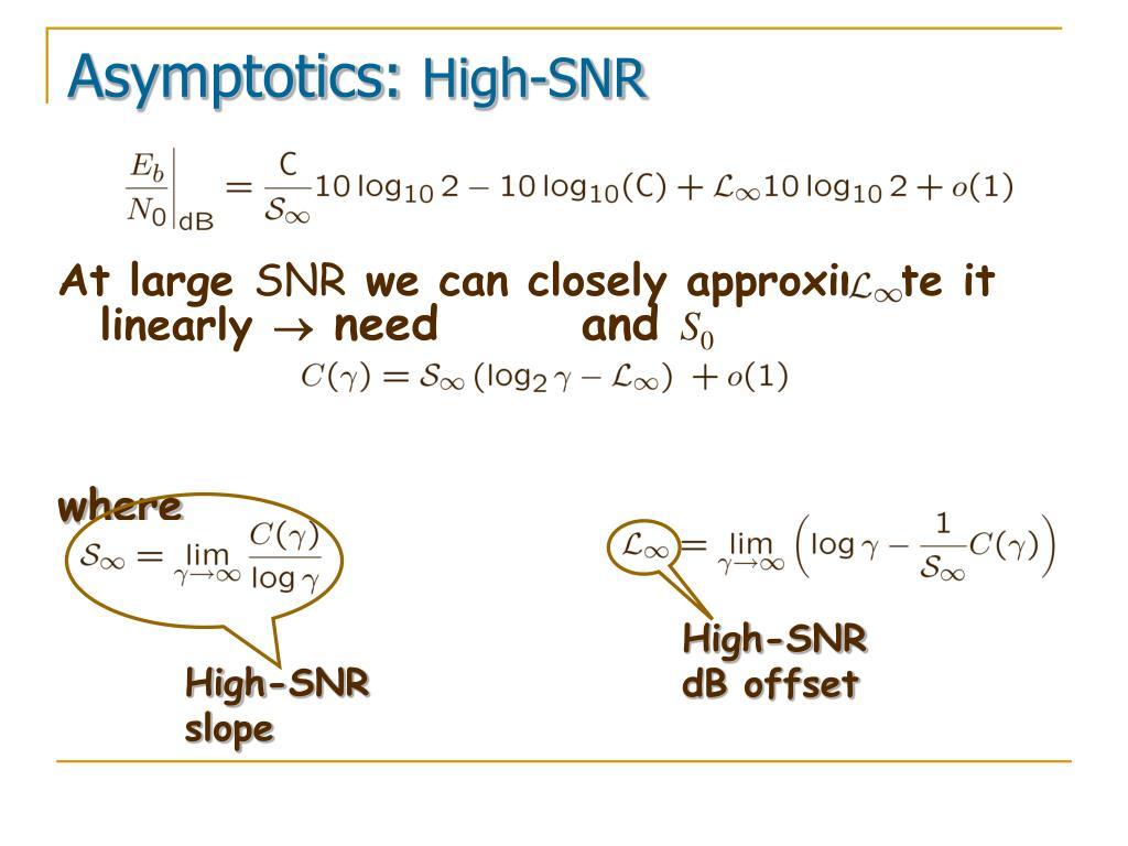 Asymptotics:
