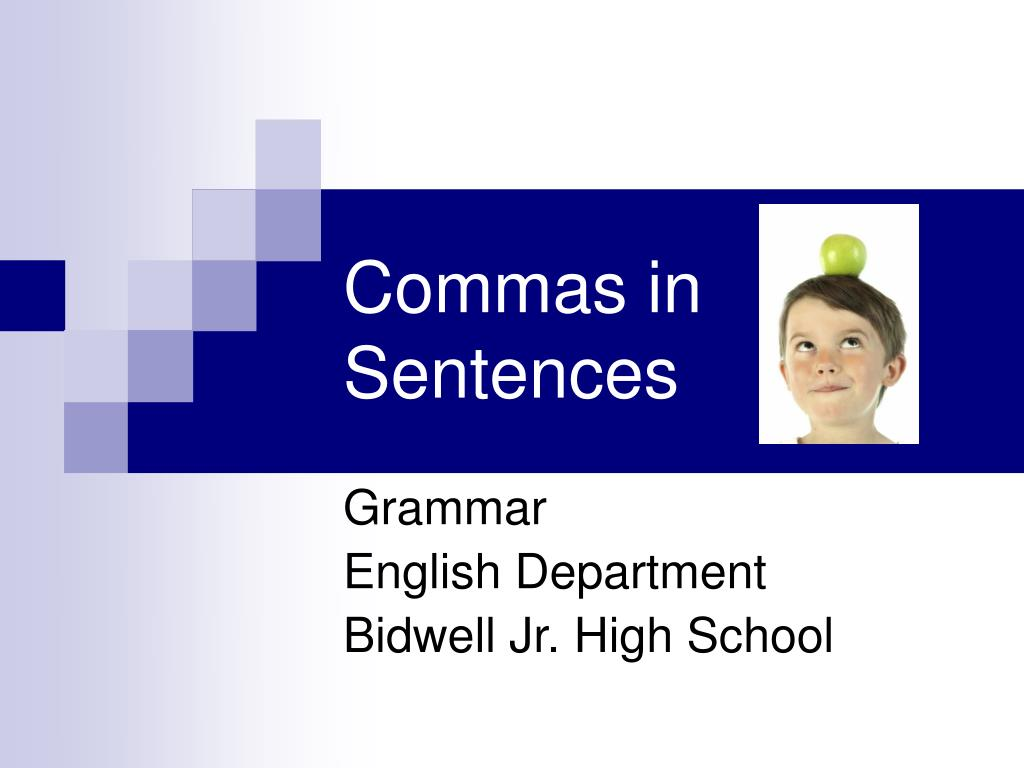 commas in sentences l.