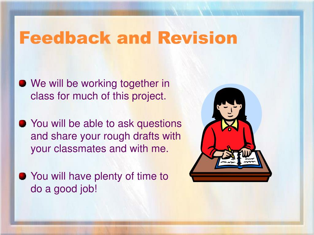 Feedback and Revision