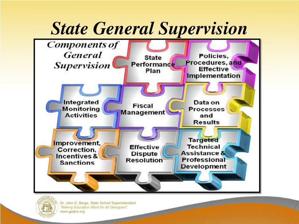 State General Supervision