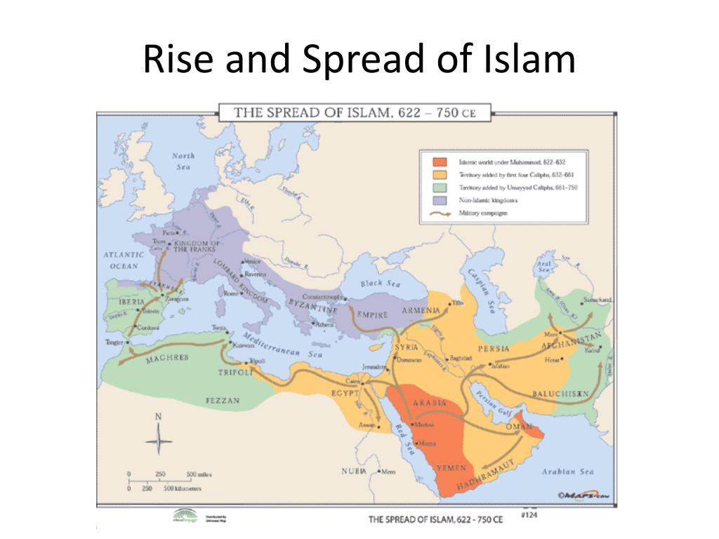 the rise and spread of islam Chapter 6: the rise and spread of islam arabs and islam- submission to the will of allah rise of muslim state: 600-1000 ad – middle east, 7th century—massive expansion through a combination of.