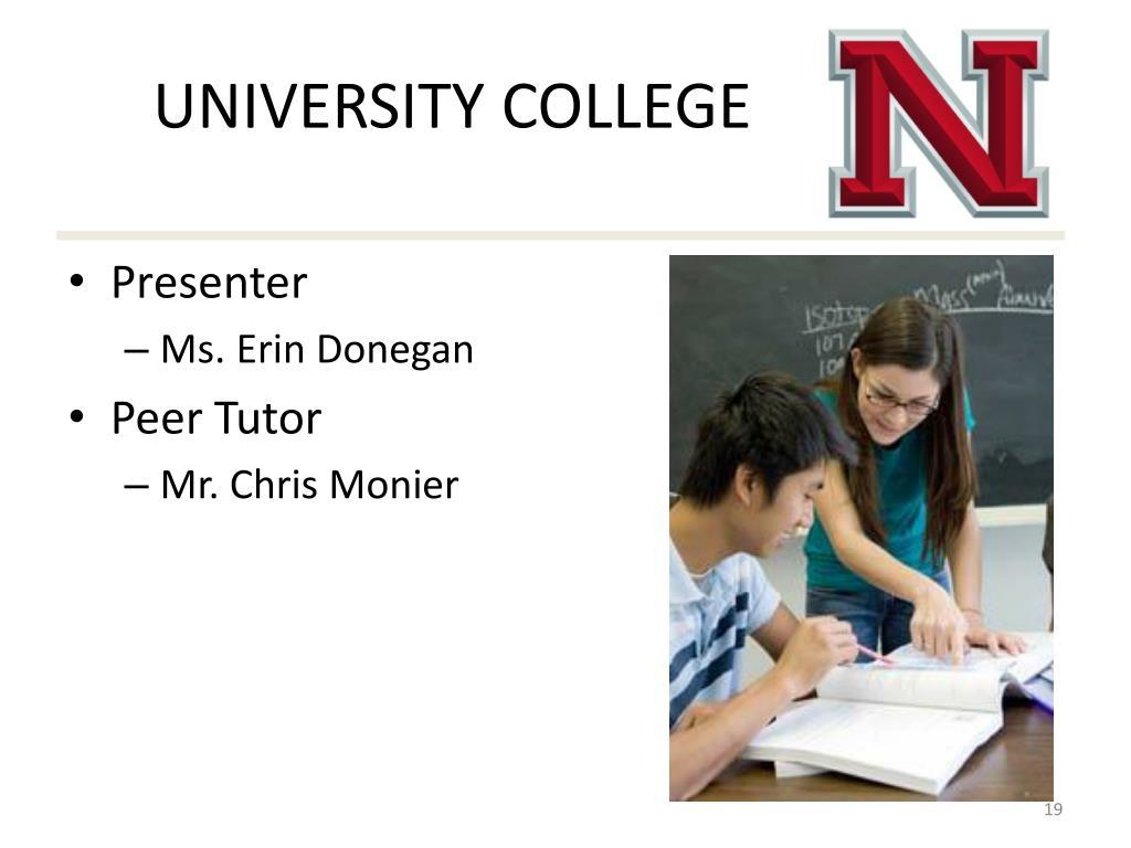 peer tutor