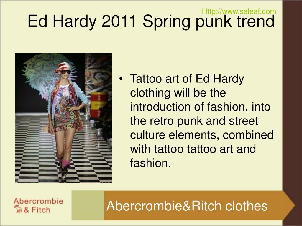 ed hardy 2011 spring punk trend l.
