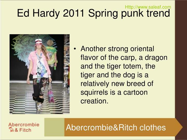 Ed hardy 2011 spring punk trend2