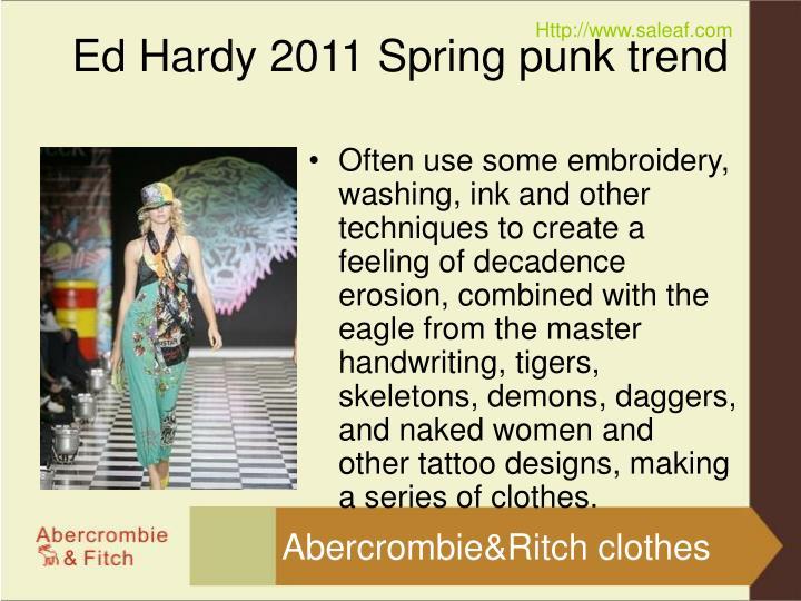 Ed hardy 2011 spring punk trend3