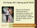 ed hardy 2011 spring punk trend4