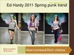 ed hardy 2011 spring punk trend5