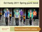 ed hardy 2011 spring punk trend6