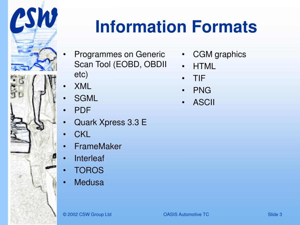 Programmes on Generic Scan Tool (