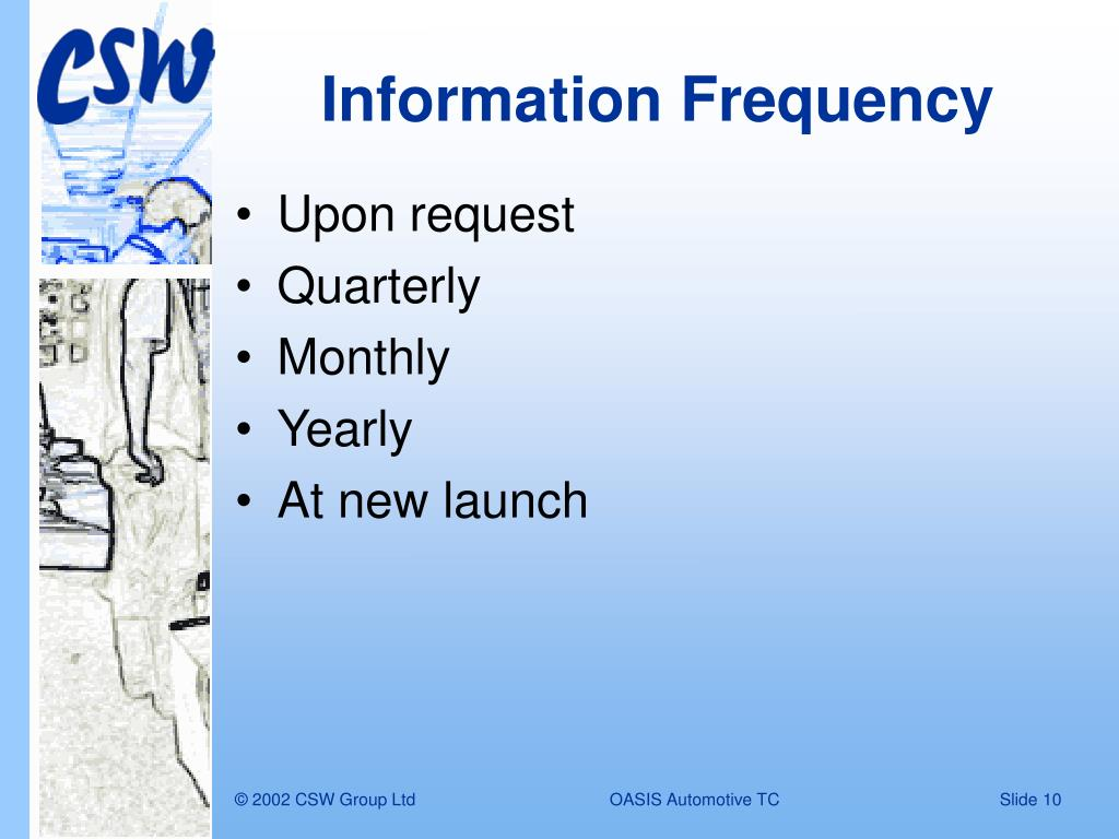Information Frequency