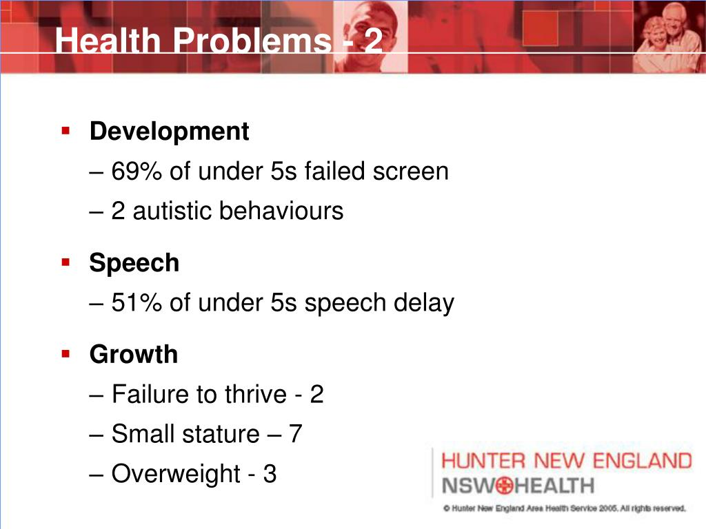 Health Problems - 2