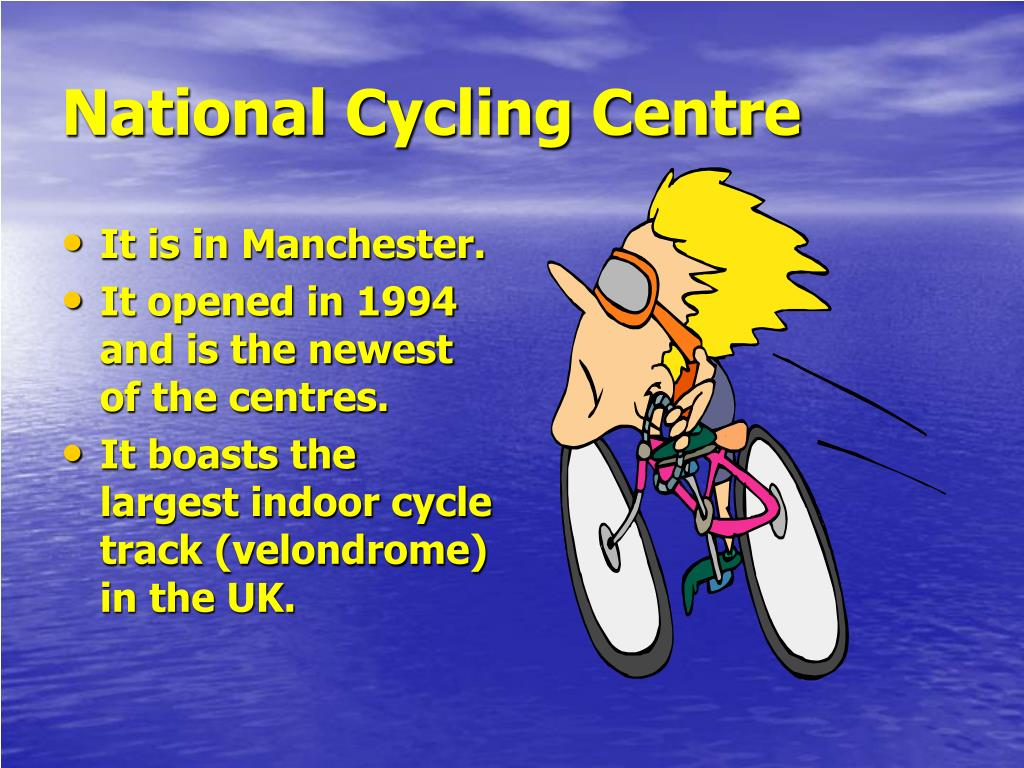 National Cycling Centre